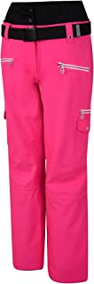 Dare 2b Women's Liberty Pant Waterproof & Breathable Loft Insulated High Waist Ski & Snowboard Trouser with Integrated Sno...
