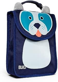 Built NY BAB1-DOG Big Apple Buddies  Reusable Insulated Kid's Lunch Box Sack, Delancey Doggie