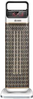 LIANYANG Ventilador Calefactor, Control Remoto de baño Vertical Impermeable, cerámica doméstica de Tres velocidades (Color: Gris, tamaño: 22 * 66 cm)