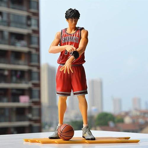 LIUXIN SLAM Dunk Anime Statue Kaede Rukawa Spielzeug Modell PVC Anime Dekoration Sammlungen Handwerk -9.8in Spielzeugstatue