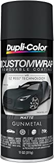 Dupli-Color ECWRC8147 Custom Wrap Matte Gunmetal