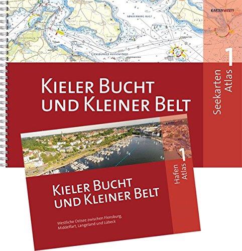 SeeKarten Atlas 1 | Kieler Bucht und Kleiner Belt: Westliche Ostsee zwischen Flensburg, Fredericia, Langeland und Lübeck