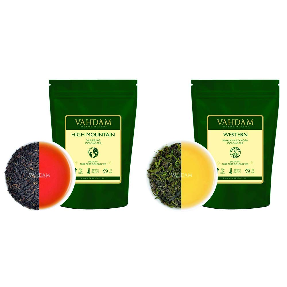 VAHDAM High Super beauty product restock quality top! Mountain Oolong Tea Himal Western New Shipping Free 3.53oz Leaves +