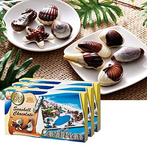 カリビアン シーシェル チョコレート 3箱セット 【メキシコ おみやげ(お土産) 輸入食品 スイーツ】