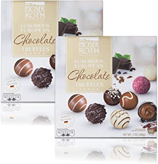 Moser Roth Luxurious European Chocolate Truffles, 2 pack