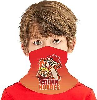 قناع وجه للأطفال الأولاد والبنات من كالفين آند هوبز عصابة رأس سحرية متعددة الوظائف للحماية من الأشعة فوق البنفسجية