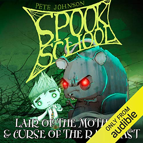 Spook School: Lair of the Mothman & Curse of the Rat-Beast cover art