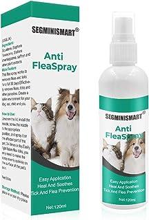 SEGMINISMART Pulgas Spray,Anti Pulgas,Flea Spray,Spray de protección contra pulgas y garrapatas ...