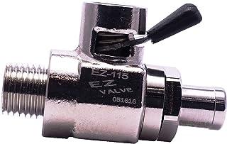 EZ-115(NPT 1/4-18) EZ Oil Drain Valve with removable Straight Hose End(H-001) Combo
