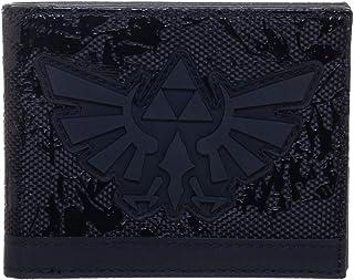 Bioworld Nintendo Legend of Zelda Triforce Men's Wallet Black