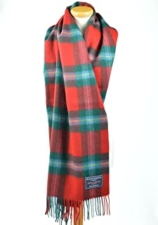 The Tartan Blanket Co. Lambswool Blanket Scarf Maclaine of Lochbuie Tartan