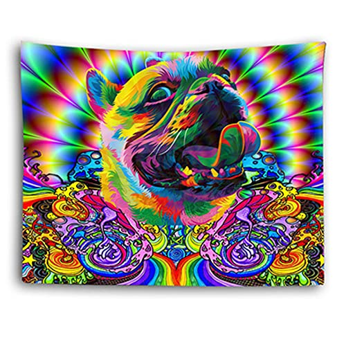 YYRAIN Tapiz De Impresión Colorida Decoraciones De Pared para El Hogar Fondo De Pared Tapiz De Regalo Pegatinas De Pared 91x59 Inch {230x150cm} A