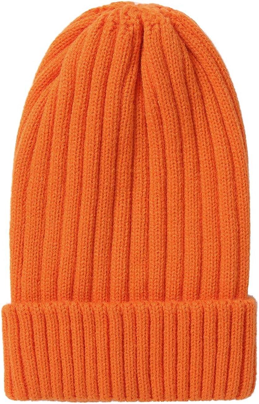 LLmoway Toddler Winter Hat Kids Knit Slouchy Cuffed Beanie Skull Cap Boys Girls