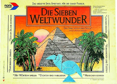 Die sieben Weltwunder [Brettspiel]. Das Spiel der 7 Spiele.