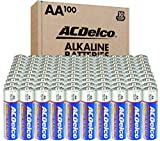 ACDelco 100-Count AA Batteries, Maximum Power...