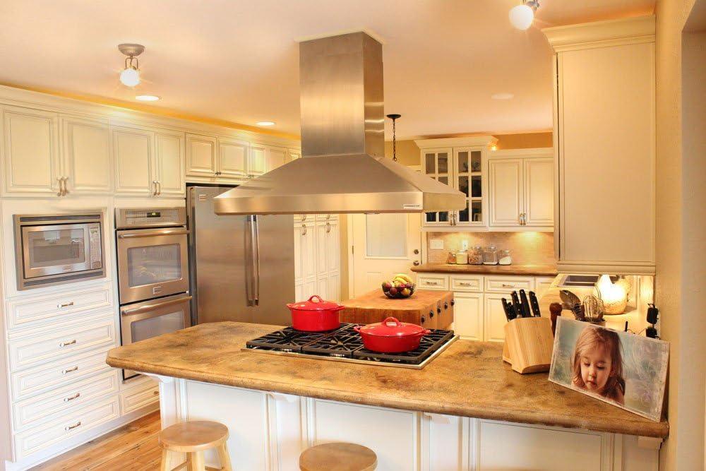 Amazon Com L D Renovations 10 X 10 Kitchen Cabinets Shaker Designer White Furniture Decor