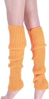 Goosuny Damen Stulpen Boot Manschetten Wärmer Stricken Bein Strümpfe Einfarbig Winter Absatz Beinwärmer Dicke Socken Stiefel Cover Beinlinge Kniesocken Legwarmers Beinstulpen