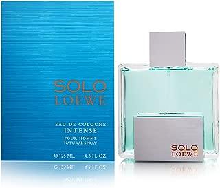 Loewe Solo Loewe Intense Eau De Cologne Spray for Men, 4.3 Ounce