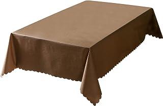 rismart Imperméable Nappe Rectangulaire PVC Nappes de Table pour Salle à Manger Cuisine Café 140_x_260_cm