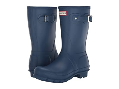 Hunter Original Short Rain Boots (Peak Blue) Women