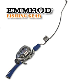 Emmrod Packer Fishing Combo 4 Coil Casting Pole w/Shakespeare Reel (Blue Handle)