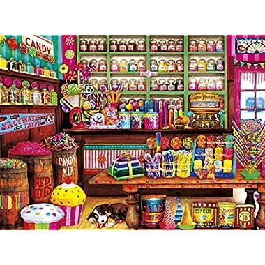 Buffalo Games - Aimee Stewart - Sweet Shop - 1000 Piece Jigsaw Puzzle