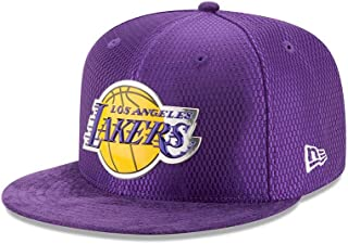 New Era Los Angeles Lakers 2017 NBA Draft On Court Collection 5950 Hat (Purple)