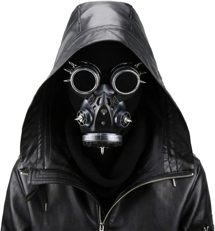 KERVINFENDRIYUN YY4 Biohazard Steampunk Gasmaske Goggles Spikes Skeleton Krieger Death Mask Masquerade Cosplay Halloween Kostüm Requisiten (Farbe   Style3) B07MKHY45T Kostengünstig  | Wirtschaftlich und praktisch