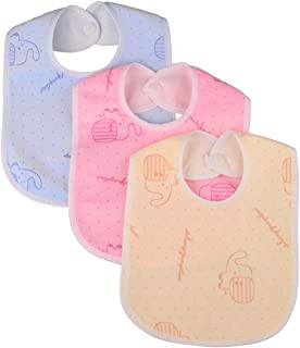 dribble bibs with waterproof backing