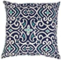 Pillow Perfect Decorative Damask Square Toss Pillow