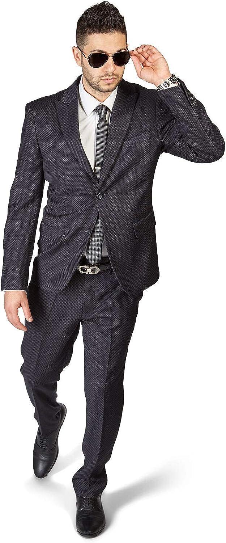 Slim Fit 2 Button Peak Lapel Beehive Modern Suit b Rapid rise Dapper Cheap super special price Design