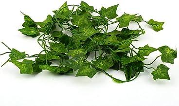 Easyeeasy kunstmatige klimop blad planten Vine hangende guirlande nep gebladerte bloemen huis keuken tuin kantoor bruiloft...