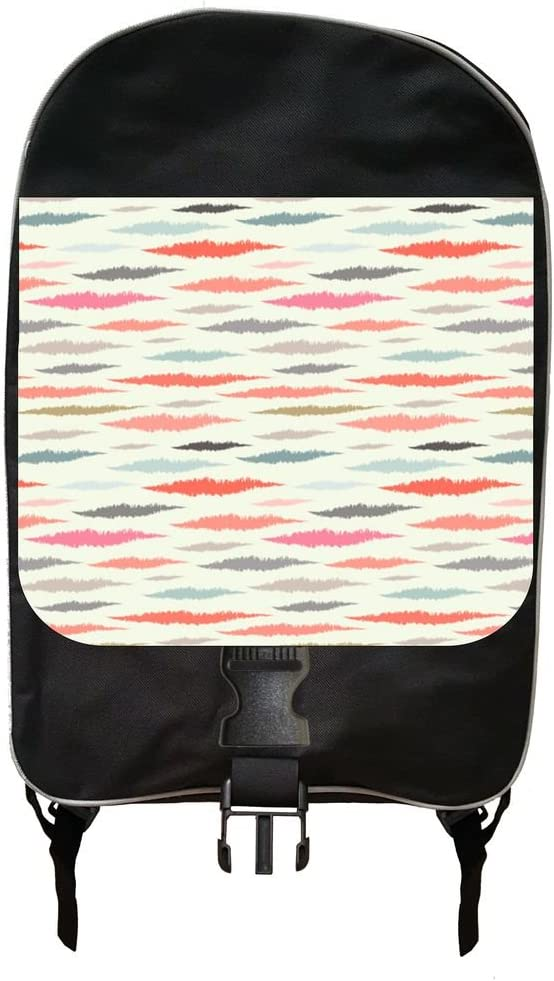 Modern Ikat Print Design At the price Backpack Case Pencil Set and half