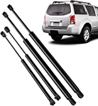 Hitommy 4Pcs Car Rear Window Tailgate Gas Strut Support Tail Lift Bar for Nissan Pathfinder R51 2005-2012