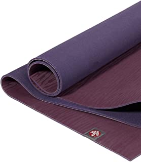 Manduka eKO Yoga Mat – Premium 5mm Thick Mat, Eco Friendly and Made from Natural Tree Rubber. Ultimate Catch Grip for Supe...