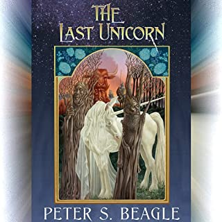 The Last Unicorn audiobook cover art