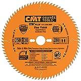 CMT 273.250.80M Lama Circolare Itk-Plus per Taglio di Precisione, Arancio...