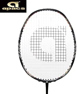 Apacs Z-Ziggler Grey Strung Badminton Racquet- with Full Cover & Grip