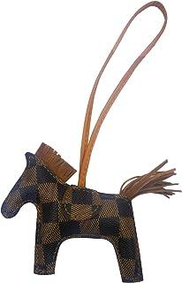 e6d1a395c Bag Charm for Women Purse Charms Horse Leather Keychain Handbag accessory