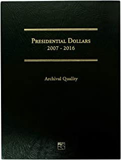2007-2016 Presidential Dollars 39 Coin Set in Green Littleton Custom Coin Folder Uncirculated