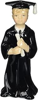 Cosmos 10036 Fine Porcelain Male Graduate Figurine, 4-5/8-Inch