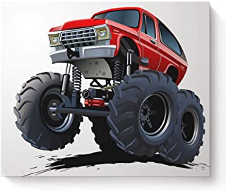 monster truck pictures to print