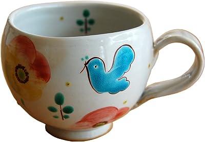 九谷焼虚空蔵窯 マグカップ 鳥の詩