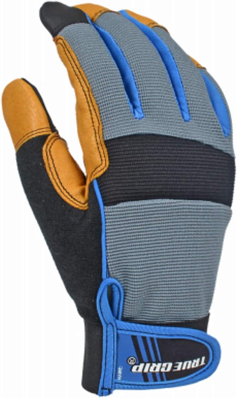 Max 43% OFF True Grip Winter San Diego Mall Hybrid Pigskin Purpose Gloves Work 40 General