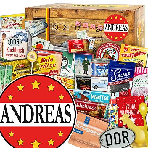 Andreas - Ostalgie Adventskalender - Weihnachtskalender für Freund