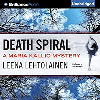 Death Spiral     Maria Kallio, Book 5              Written by:                                                                                                                                 Leena Lehtolainen,                                                                                        Owen F. Witesman - translator                               Narrated by:                                                                                                                                 Amy Rubinate                      Length: 9 hrs and 45 mins     Not rated yet     Overall 0.0