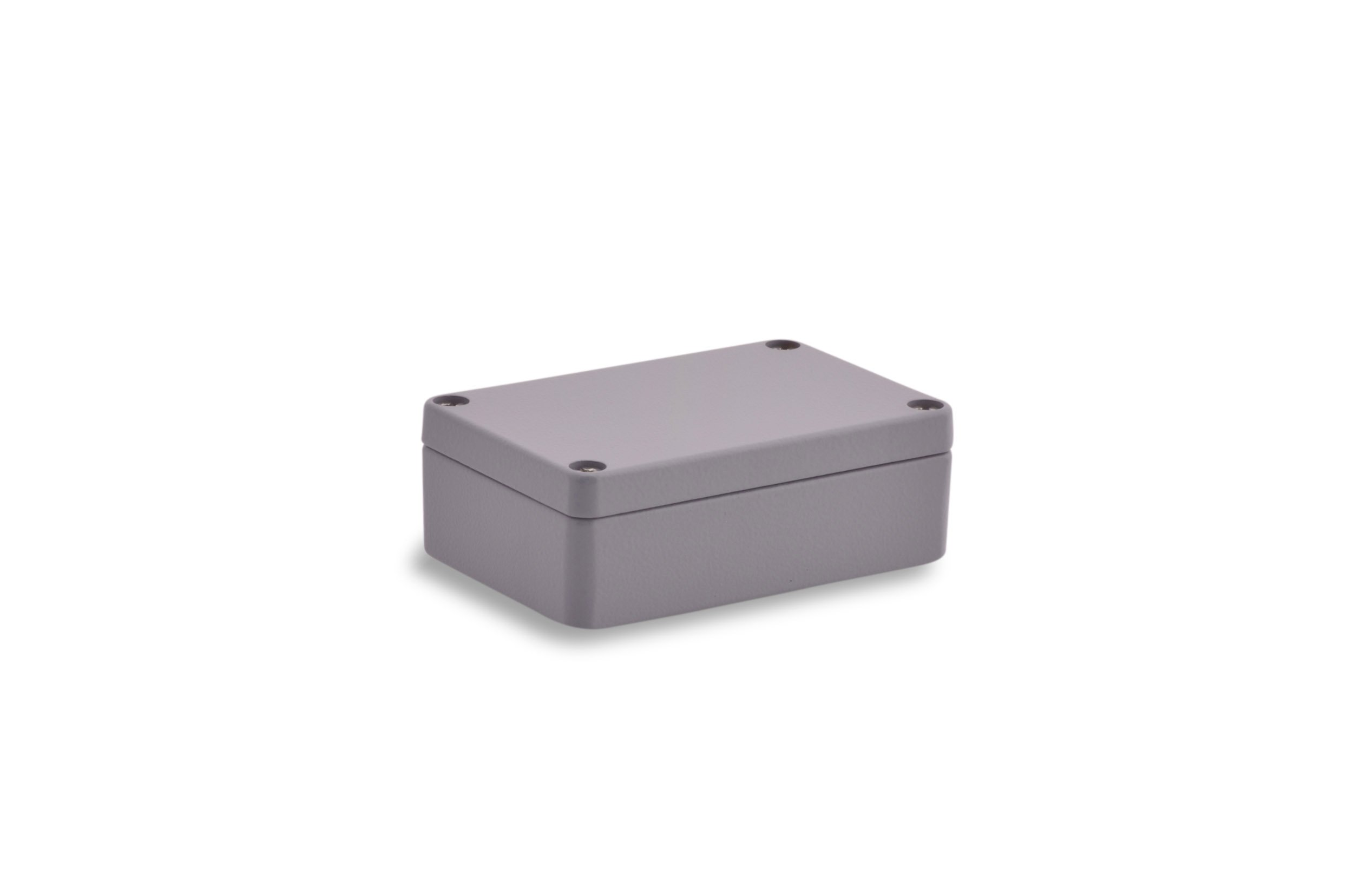 BOXEXPERT Aluminium Industriegeh/äuse Serie Alster 58x64x34mm IP 66 grau RAL7001 Schaltschrank Verteilerkasten