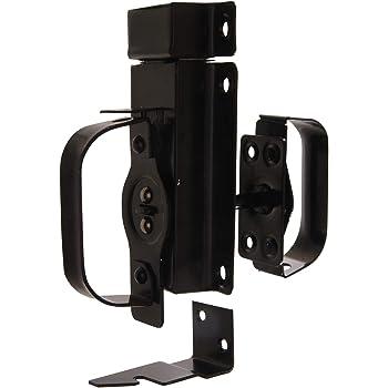 """Hillman 852505 Hardware Essentials Black Swinging Door Latches - for 3/4"""" to 2-1/4"""" Door"""