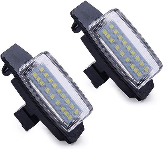 2stk 18 LED Kennzeichen Leuchte passt für Mitsubishi Lancer Sportback Outlander