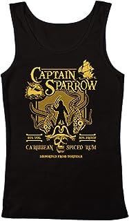 7370c13108674 GEEK TEEZ Captain Sparrow s Caribbean Spiced Rum Men s ...